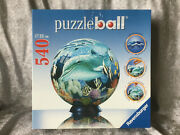 Ravensburger Puzzleball 540 Pieces 11 140 4 Colorful Underwater World Complete