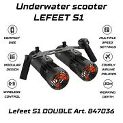 Sea Scooter S1 2-in-1 Lefeet Double Sea Beach Diving Snorkeling Movesea 847036