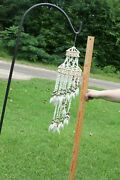 Cascading Seashell Windchimes Perfect Size For A Balcony - 22 Inch G-63
