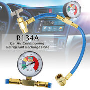 R134a 200psi Car Auto Ac Air Conditioning Refrigerant Recharge Measuring Hoses