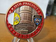 Nypd 19th Precinct 2015 Pope Francis Visit Serialized 096 Challenge Coin 648d