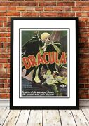 Vintage Horror Movie Posters   18 To Choose From   Framed Or Unframed