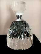 Crystal Cut Glass Decanter Shaped Perfume Bottle. Perfect Christmas Present