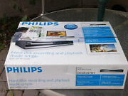 New Philips Dvdr3575h 1080p Upscaling 160 Gb Hard Disk Hdd Dvd Recorder W Tuner
