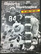1964 12-14 Sports Illustrated - Charley Johnson Cardinals Qb, Cookie Gilchrist