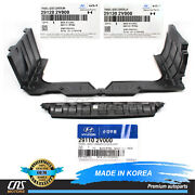 Genuine Engine Under And Side Cover 3pcs For 2012-2017 Hyundai Veloster⭐⭐⭐⭐⭐