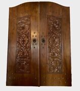Hand-carved Indonesian Doors