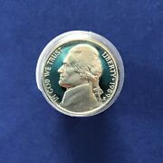 1989-s Jefferson Nickel Dcam Proof Roll Of 40 Coins