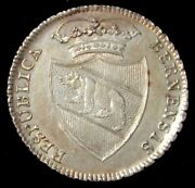 1795 Silver Switzerland Cantons Bern Thaler Coin Nice Au Condition