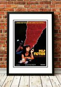 Classic 1990's Movie Posters   14 To Choose From   Framed Or Unframed