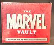 Sealed Marvel Comics Book The Marvel Vault A Museum In A Book Rare Collectibles