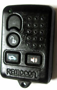 Remocon Remote Keyless Entry Fob Mmorco196m Transmitter Replacement Phob Opener