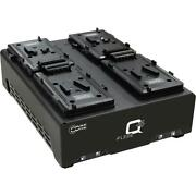 Core Swx Neo Slim V-mount 4 Battery Kit With Quad Fleet Charger Neos-98s B