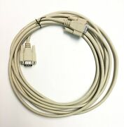25 Ft Vga Db9 Cable 9 Pin Male To Female M/f F/m