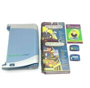 Leappad Learning System Lot Quantum Leap Pad, Two Books/cartriages, Tested Works