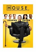 House M.d. Dvd Season 7 5 Discs 23 Episodes Medical Drama Gregory House's Cases