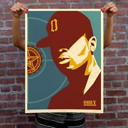 Shepard Fairey - Chuck D - Obey - Fight The Power _ Signed Xxx/500 18x24