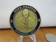 Nypd 19th Precinct 2015 Pope Francis Visit Serialized 048 Challenge Coin 182g