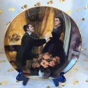 Gone With The Wind Andldquothe Proposalandrdquo Collectors Plate By Howard Rogers 1988 Gi 21