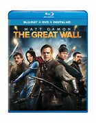 The Great Wall Blu-ray Digital Hd 2 Discs American-chinese Action Monster Film