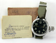 Rare Vodolaz 191 Chs Typ1 Agat Cccp Diver's Military Watch Navy And Box Zertifikat