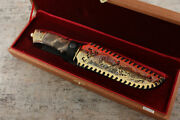Craft Forged Collectible Authorand039s Tactical Forged Steel Knife Taiga Hunter