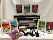 Texas Instruments Ti 99/4a Computer Bundle With Accessories - Factory Fresh New