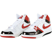 New Womens Nike Court Force High Valentines Size 9.5 White/red/black Vintage