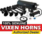 Train Horn Kit For Truck/car/pickup Loud System /3g Air Tank /200psi /8 Trumpets