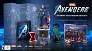 Marvels Avengers Earth Mightiest Collection Collectors Edition Ps4 In Hand