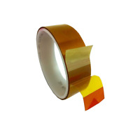 3m Linered Low-static Polyimide Film Tape 5433 Amber 4 In X 36 Yds X 2.7 Mil