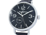 Auth Bell And Ross Vintage Power Reserve Ww1-97 Ss Auto Menand039s Watcha50607