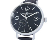 Auth Bell And Ross Vintage Power Reserve Ww1-97 Ss Auto Men's Watcha50607