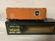 ✅weaver Bessemer Lake Erie 40andrsquo Ps-1 Box Car W/ Lionel Style Trucks O Scale Bandle