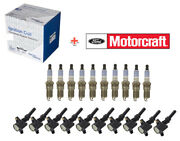 10 Spark Plugs And Coils For Ford E350 Super Duty 2004-08 6.8l V10 Sp479 Dg508