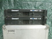 2 Of 2. Stewart World 1.6 Power Amp. High Quality. Working As It Should.