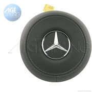 Oem Mercedes-benz Leather Driver Airbag S-class Sedan S500 S560 S63 S65 Amg 217