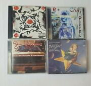 Smashing Pumpkins, Gin Blossoms, Red Hot Chili Peppers, Lot Of 4 Cds
