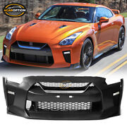 Fits 09-22 Nissan Gtr Gt-r R35 Oe Factory Front Bumper Cover Conversion Grille