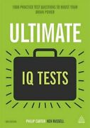 Ultimate Iq Tests 1000 Practice Test Questions, Russell, Carter..