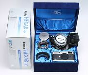 Konica Hexar Rf Limited Edition + M-hexanon 50mm F/1.2 Lens Boxed - Mint