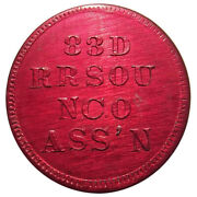 1966-70 83rd Rrsou Nco Token - Vietnam War Thailand 25andcent Military Army