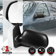 [left] Driver Side Power+heated Foldable Oe Replacement Mirror For 98-03 Sienna