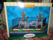 Lemax Zoo Zebra Family 93759 Retired / Discontinued Product New In Box