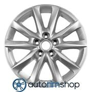 New 18 Replacement Rim For Mazda 3 2017 2018 Wheel Silver