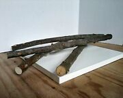 Apple Pear Or Cherry Wood Organic Heirloom 20-24 Long For Magic Wands Perches