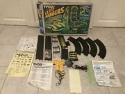 Tyco Cliff Hanger Nite Glow 1984 Set 6220 W/ Corvette Cars Working - Incomplete