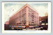 Chicago Il Siegel Cooper And Co Store Trolley Cars Vintage Illinois Postcard