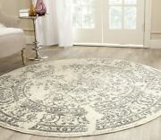 Safavieh Adirondack Collection Adr101b Ivory And Silver Oriental Vintage Distres