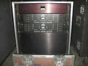 2 Dds 9800 Leviton Dimmers. 12u Pull Over Rack. Drawer Controller. Finish Panel.